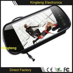 Digital de 7 pulgadas de 800x480 Pantalla LCD táctil de coche retrovisor Monitor con entrada AV