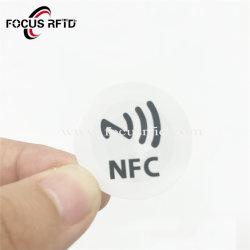 Venda por grosso NFC RFID Sticker T5577 TK4100 Etiqueta de papel para o pagamento