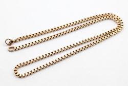Form-Edelstahl-Rosen-Goldkette für Halskette