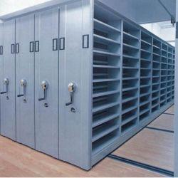 Bens móveis de escritório de alta densidade de armário de arquivos do sistema de prateleiras de armazenamento móvel mecânica/estante/estante de livros