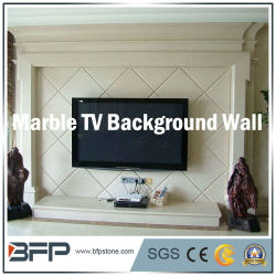 Quadro de piso de mármore natural TV na parede de fundo medalhão/Padrão/Mosaic/esculpir a pedra