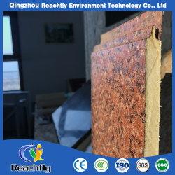 Espuma de poliuretano resistente al agua Exterior Panel de pared decorativos Los materiales de construcción