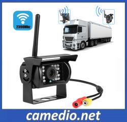 """7 2,4 GHZ """" Moniteur numérique sans fil pour les bus du système de caméra de rétroviseur/chariot"""