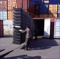 Barre en acier noir mailles/Treillis Soudés/construction de treillis soudé/maille d'armature