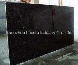 Hot Sale de bonne qualité de dalles de granit Galaxy noir poli