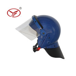 屋外の戦闘の警察の太字の安全反暴動の軍隊のヘルメット