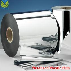 Commerce de gros en film métallisé doux RPC/aluminium Rouleau de film en polypropylène moulé Jumbo