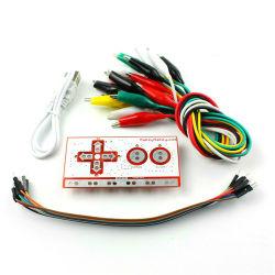 Geschenk für Kind-vollständiges Set-deluxen Installationssatz mit USB-Kabel Dupond Zeile Krokodilklemmen für Kind-Kinder