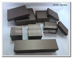 Schmucksache-Geschenk-Kasten neues Entwurfs-Firmenzeichen-Druckendunkler des Brown-Papier-LED heller