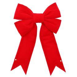 "Noël structurels Velvet Red Bow 18"""