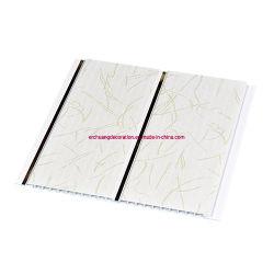 300mmの幅の価格PVC壁の天井板3D PVC壁パネルのガーナのプラスチック浴室の壁のクラッディングPVCパネル
