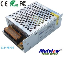 12V/24V 60W LED CCTV AC DCはセリウムのRoHS FCC IECの切換えの電源を調整した