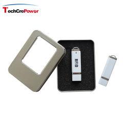 Il mini lettore di schede del calcolatore del USB comunica con il PC per mezzo di interfaccia