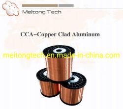 Alliage de cuivre CCA Cooper vêtu de fil en aluminium