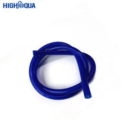 多彩な適用範囲が広く、洗濯できる水ぎせるのホースの使い捨て可能なプラスチック管の青の管