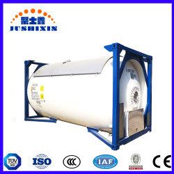 콘테이너 20 피트 ISO 액화천연가스 액체 질소 헬륨 T75 탱크