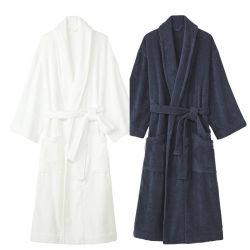 Textilwaffel-Terry-Tuch-Velour-/Hotel-Bademantel Shanghai-DPF