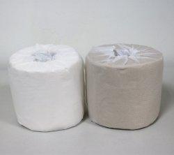Papier recyclé la pulpe enveloppées individuellement le papier hygiénique