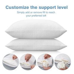 Certipur desmenuzado almohada de espuma de memoria con el exclusivo y lujoso cubierta de la Almohada