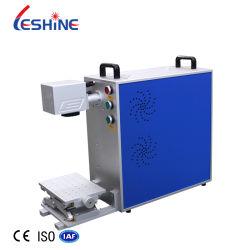 Tragbare Laser-Markiermaschine für Metall 20W Faser Laser-Markierung Maschine für Ringe Halskette Armband Custom Lettering Service