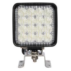 """10-80В постоянного тока 4"""" 48W вилочный погрузчик желтый/синий/белый светодиодный светильник головки блока цилиндров для вилочного погрузчика"""