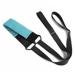 Elástico de alta Yoga Estirar la correa correa Cuerda de la cintura con elástico