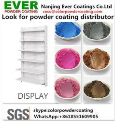 Het epoxy Binnenlandse Hybride Zandige Werinkle Poeder van de Polyester Caoting voor Vertoning