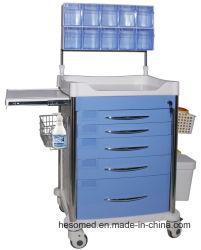 HS-Pat010s больнице медицинской тележке анестезии АБС лекарства тележки
