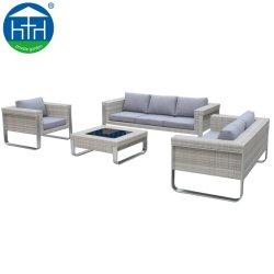 Factory Direct Wholesale New Design Rattan Modern Garden Divano Patio Furniture