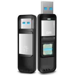 Memoria sicura istantanea 32g/64G del USB cifrata impronta digitale del dm