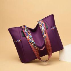 100% нейлон женщин дамской сумочке жаккард ручка для женщин дамы левой подушки безопасности женщин сумки
