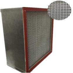 فلتر هواء الفاصل المقاوم لدرجة الحرارة العالية من الفولاذ المقاوم للصدأ