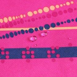 Печатаются 100% 300d водонепроницаемая PU покрытием из Оксфордского университета полиэфирная ткань для одежды/куртка
