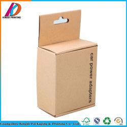 Umweltfreundlicher gewölbter Karton-Kasten gestempelschnittener Packpapier-Kasten für Auto-Energie