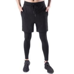 卸し売り堅い2部分の体操の連続したズボンは人のためにセットした