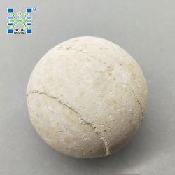 أفران استخدم الكورندم الحرارية 65 ٪ ألومينا السيراميك الكرة