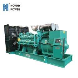 1000 квт дизельный генератор (1250 ква газ/средней скорости/высокое напряжение)