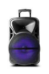 Shinco 12 pouces Parti Mobile DJ Chariot de karaoké sans fil haut-parleurs multimédia haut-parleur Bluetooth