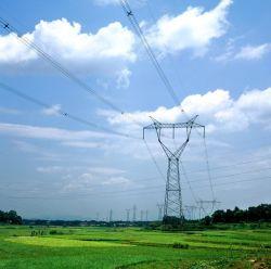 De elektrische Toren Galvanzied 500kv van het Staal van de Hoek van de Lijn van de Transmissie Kat Getypte