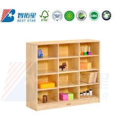 Stockage de jouets pour enfants, le bébé armoire en bois, de la maternelle Armoire penderie armoire de coin de pépinière, les enfants, salle de jeux du cabinet Cabinet de combinaison