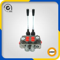 Válvula de control direccional de flujo hidráulico