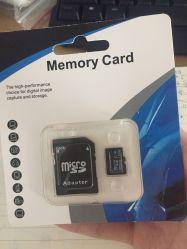 Logo personnalisé SD / TF carte Class10 4giga 8GB 16G 32 Go de carte mémoire Micro SD pour Smartphone Ypf17
