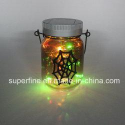 美しいハングのHalloween装飾的な太陽LEDの妖精の瓶ライト