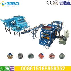 Automatischer hydraulischer Kleber Qt4-15 Cabro Plasterungs-Block-Hersteller-automatische Ziegeleimaschine in Zimbabwe und in Botswana