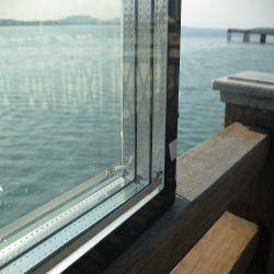4mm, bas e +16UN+4mm ugi l'isolation/mur rideau en verre isolé pour la porte en verre du système de refroidissement