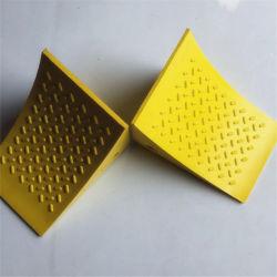 Véhicule matériau des cales de roue en PU