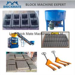 Руководство по эксплуатации4-24 Qt Полуавтоматическая оборудования для изготовления бетонных блоков для скрытых полостей Найджелом Пэйвером кирпича Африка Кения
