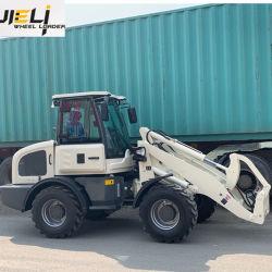 Дешевые цены 1,5 тонн Zl15 Mini передней колесных погрузчиков