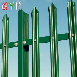 Valla de acero de Palisade Palisade Palisade valla metálica de esgrima Panel