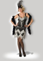 De Kostuums Charleston Cutie 1069 van de Vrouwen van Halloween Levering voor doorverkoop